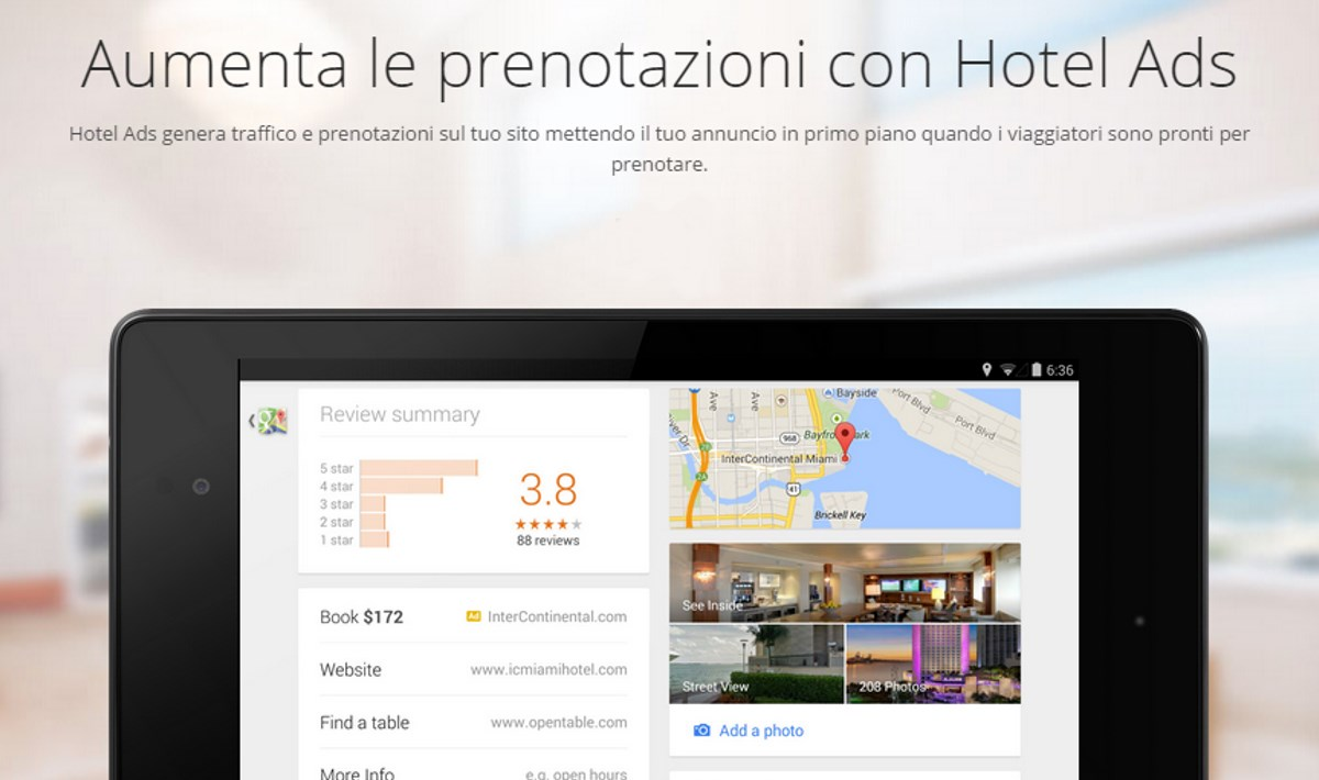 Google Hotel Ads Nuovo Formato Pubblicitario Per Hotel E