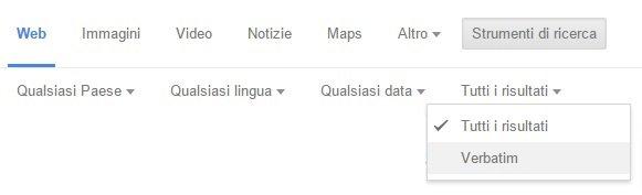 Google Elimina Ricerca Località