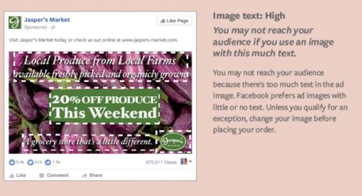 Limite testo Immagini Facebook High