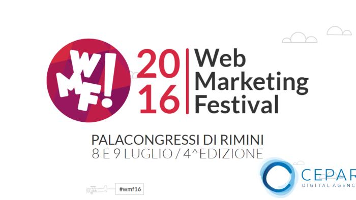 Web Marketing Festival 2016 resoconto