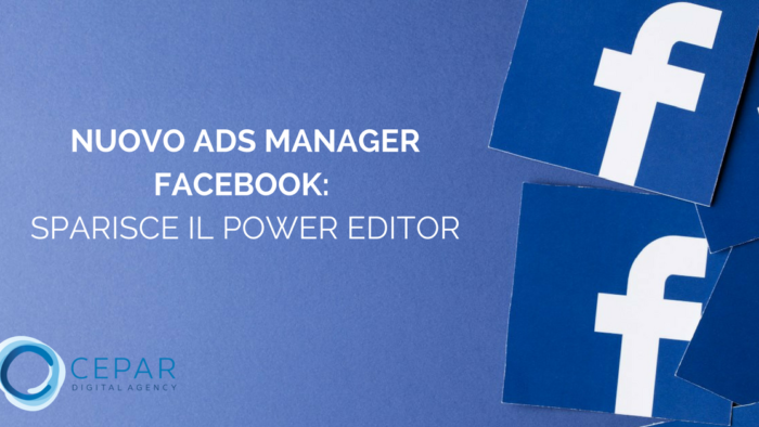 Nuovo Ads Manager Facebook