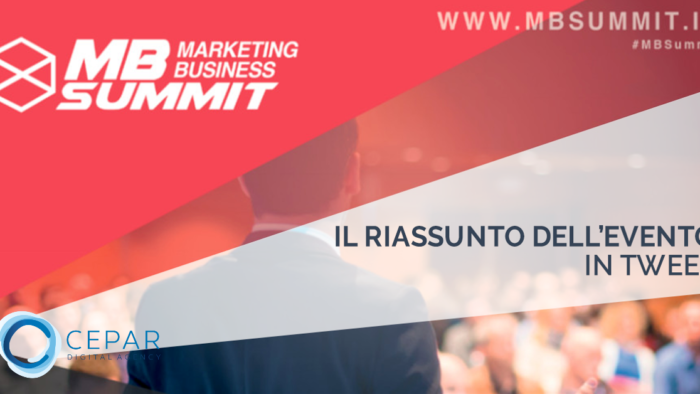 Marketing Business Summit 2017 Riassunto Tweet