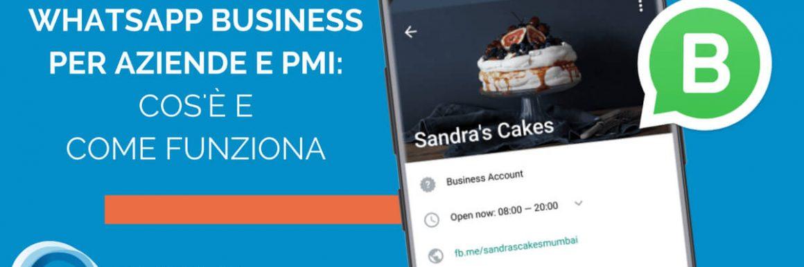 Whatsapp Business Per Aziende E Pmi: Cos'è E Come Funziona
