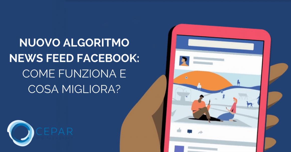 Nuovo Algoritmo News Feed Facebook 2018