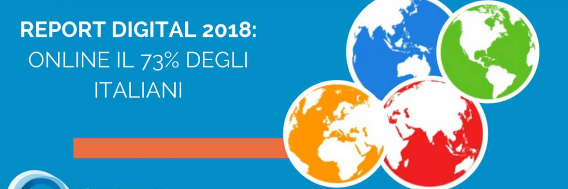 Report Digital 2018 italiani Online Internet