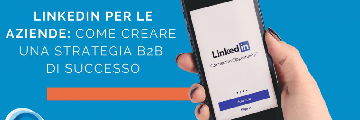Linkedin B2B per le Aziende