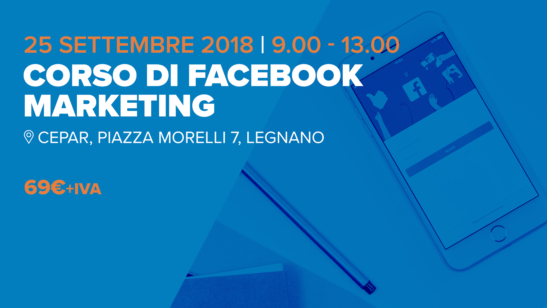 Corso di Facebook Marketing